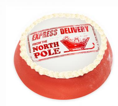 Christmas Cake from the North Pole Christmas Cake from the North Pole