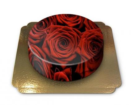 Rose Cake Chocolate/Chocolate