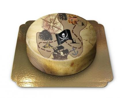 Pirate Cake Chocolate/Chocolate