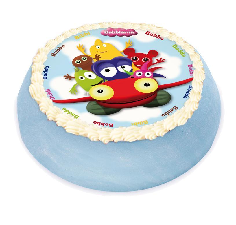 fototryck på tårta